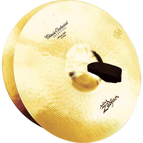 Zildjian A Classic Orchestral Medium Light Crash Cymbal Pair-thumbnail