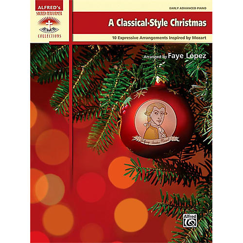 Alfred A Classical-Style Christmas Early Advanced Piano Book-thumbnail