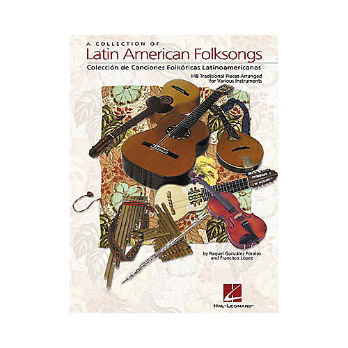 Hal Leonard A Collection of Latin American Folksongs for Various Instruments-thumbnail