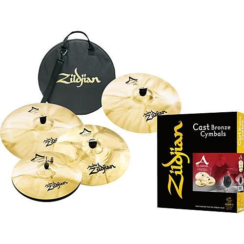 Zildjian A Custom Bonus Cymbal Pack with Free 18