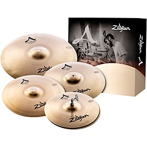 Zildjian A Custom Cymbal Pack with Free 18 inch A Custom Crash