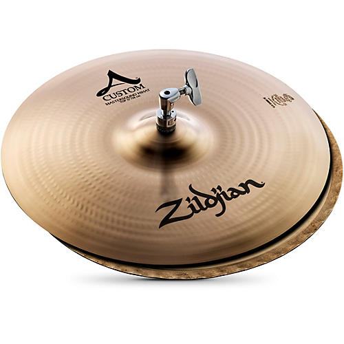 Zildjian A Custom Mastersound Hi-Hat Pair-thumbnail