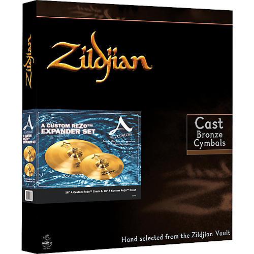 Zildjian A Custom ReZo Crash Pack