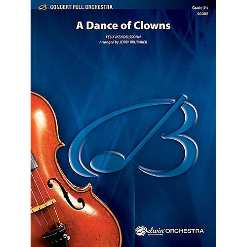 Alfred A Dance of Clowns from A Midsummer Night's Dream Full Orchestra Grade 3.5 Set-thumbnail
