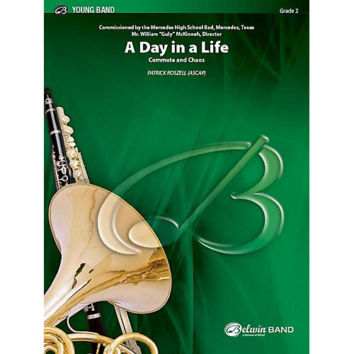 Alfred A Day in a Life Concert Band Grade 2 Set-thumbnail