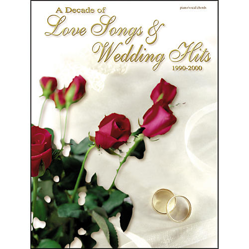 Alfred A Decade of Love Songs & Wedding Hits for Voice and Piano 1990-2000 Book-thumbnail