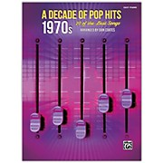 BELWIN A Decade of Pop Hits: 1970s Easy Piano Songbook