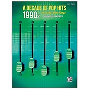 BELWIN A Decade of Pop Hits: 1990s Easy Piano Songbook