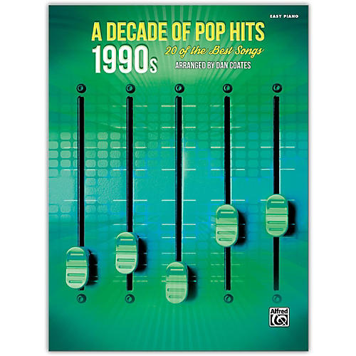 Alfred A Decade of Pop Hits: 1990s Easy Piano Songbook-thumbnail