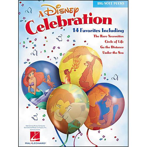Hal Leonard A Disney Celebration for Big Note Piano