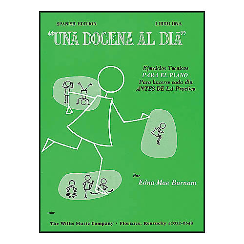 Willis Music A Dozen A Day Book 1 (Spanish Edition) Una Docena Al Dia Book One Piano-thumbnail