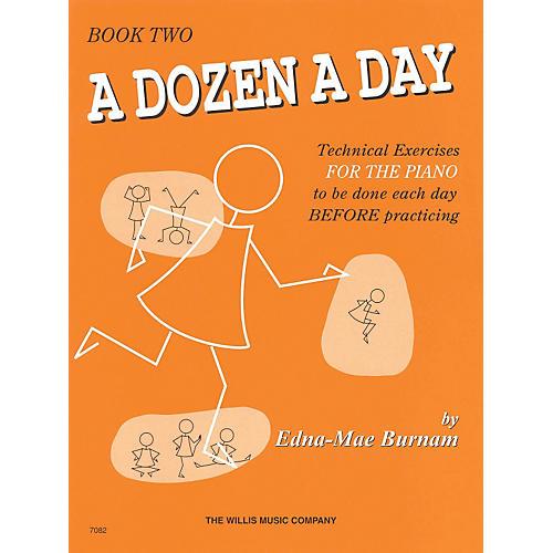 Hal Leonard A Dozen A Day Book 2 (Orange cover)-thumbnail