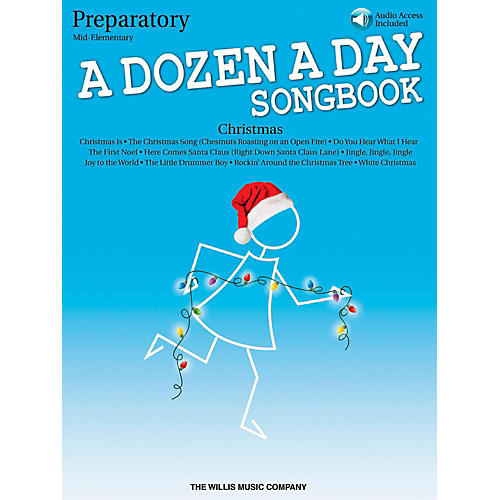 Hal Leonard A Dozen A Day Christmas Songbook - Preparatory (Book/Audio)