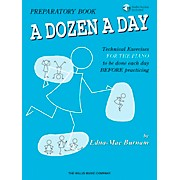 Willis Music A Dozen A Day Preparatory Book/CD