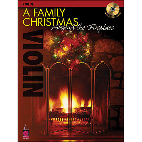 Cherry Lane A Family Christmas Around The Fireplace for Violin Book/CD-thumbnail