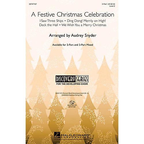 Hal Leonard A Festive Christmas Celebration VoiceTrax CD Arranged by John Moss
