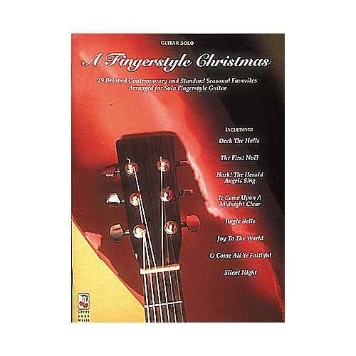Cherry Lane A Fingerstyle Christmas Guitar Book