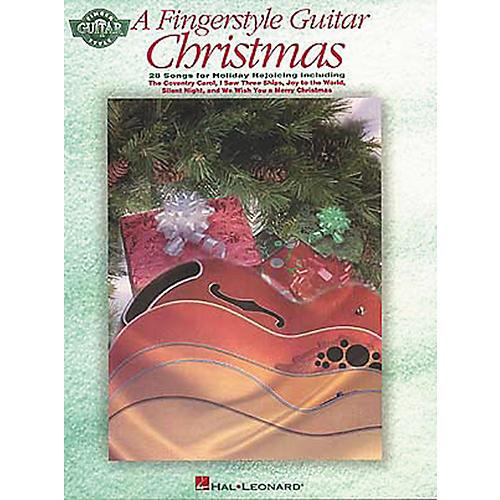 Hal Leonard A Fingerstyle Guitar Christmas Tab Songbook-thumbnail