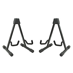 Musicians Gear A-Frame Acoustic Guitar Stand 2 Pack