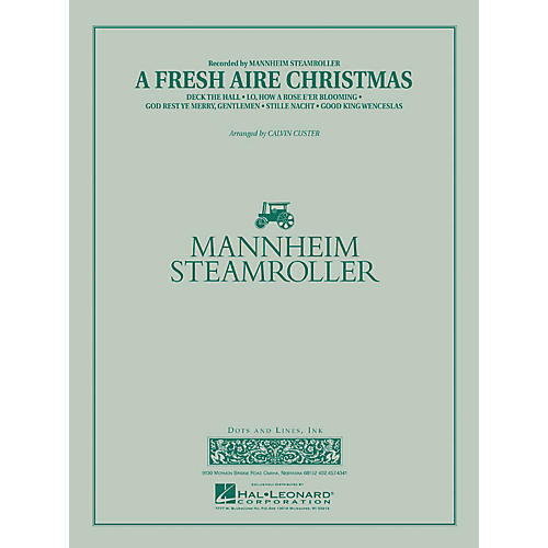Mannheim Steamroller A Fresh Aire Christmas - Young Concert Band Level 3 arranged by Chip Davis