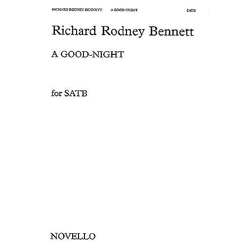 Novello A Good Night SATB Composed by Richard Rodney Bennett