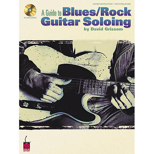 Cherry Lane A Guide to Blues/Rock Guitar Soloing (Book/CD)-thumbnail