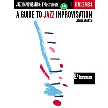 Berklee Press A Guide to Jazz Improvisation (E-Flat Edition) Berklee Guide Series Softcover with CD by John LaPorta