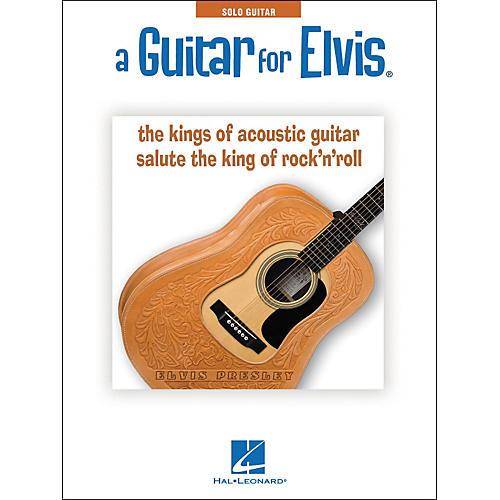 Hal Leonard A Guitar For Elvis - Acoustic Guitar Instrumentals