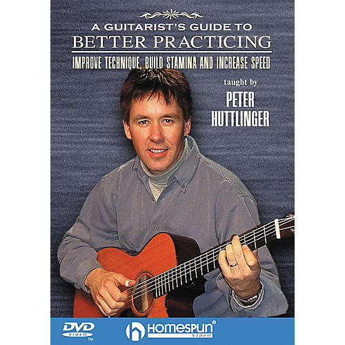 Homespun A Guitarist's Guide to Better Practicing (DVD)