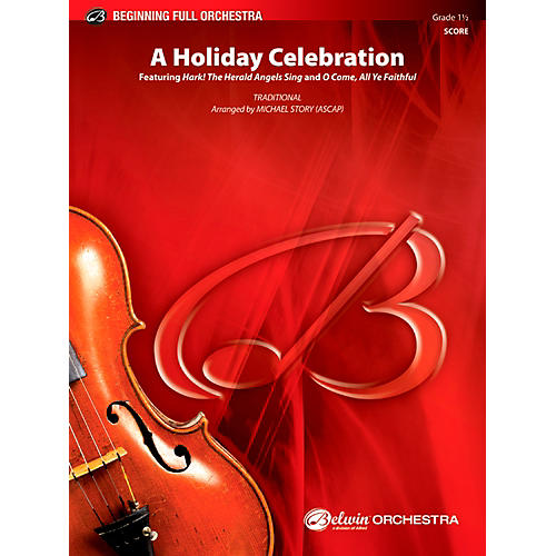 Alfred A Holiday Celebration Full Orchestra 1.5 Set