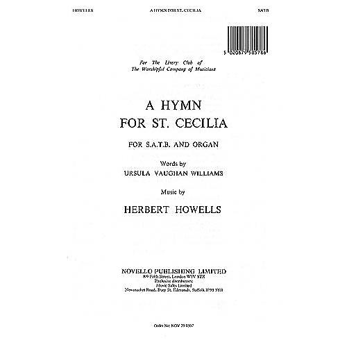Novello A Hymn for St. Cecilia SATB Composed by Herbert Howells