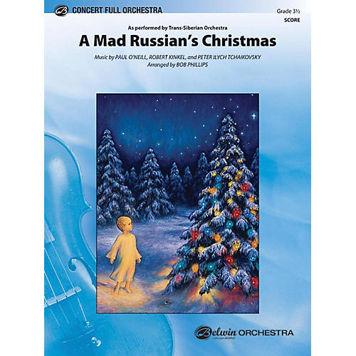 Alfred A Mad Russian's Christmas Full Orchestra Grade 3.5