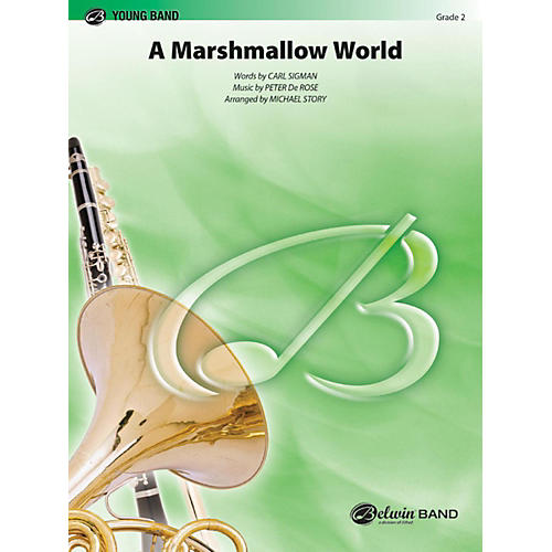 Alfred A Marshmallow World Concert Band Grade 2-thumbnail