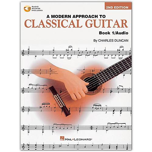 Hal Leonard A Modern Approach to Classical Guitar - Book 1 (Book/Online Audio)