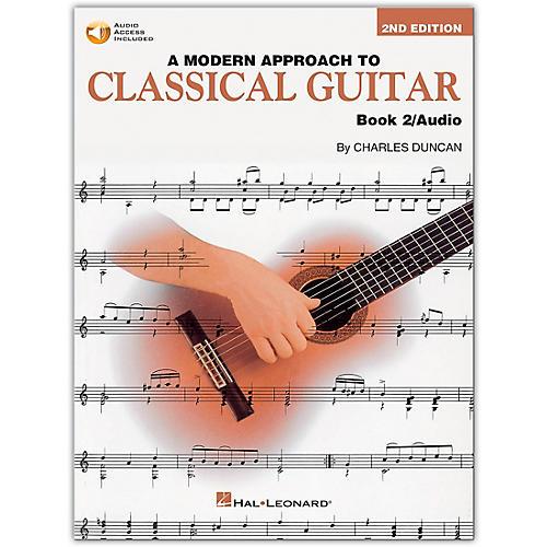 Hal Leonard A Modern Approach to Classical Guitar 2 (Book/Online Audio)