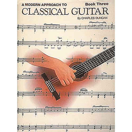 Hal Leonard A Modern Approach to Classical Guitar Book-thumbnail