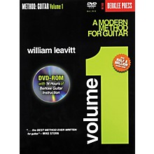 Berklee Press A Modern Method for Guitar - Volume 1 (Book/DVD-Rom)