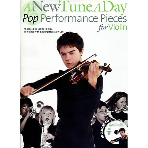 Music Sales A New Tune A Day - Pop Performance Pieces for Violin Book/CD-thumbnail