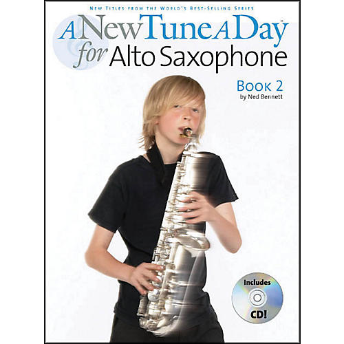 Music Sales A New Tune A Day Alto Sax Book 2 Book/CD