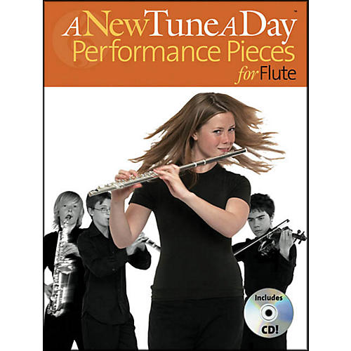 Music Sales A New Tune A Day Performances Pieces for Flute Book/CD-thumbnail