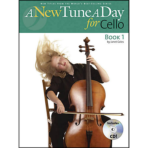 Music Sales A New Tune A Day for Cello Book/CD-thumbnail