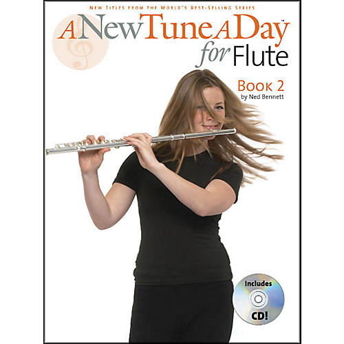 Music Sales A New Tune A Day for Flute Book 2 Book/CD