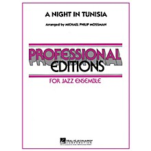 Hal Leonard A Night in Tunisia Jazz Band Level 5 Arranged by Michael Philip Mossman