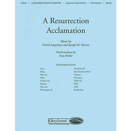 Shawnee Press A Resurrection Acclamation Score & Parts arranged by Stan Pethel