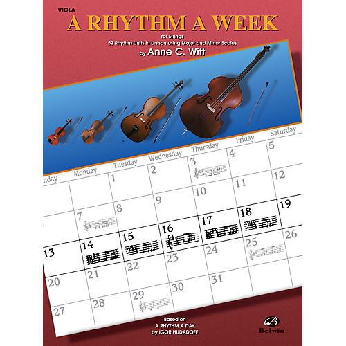 Alfred A Rhythm a Week Viola-thumbnail