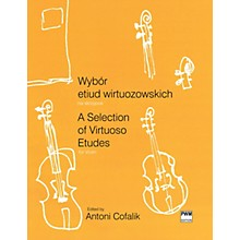 PWM A Selection of Virtuoso Etudes for Violin (Wybor etiud wirtuozowskich) PWM Series Softcover