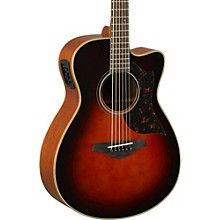 A-Series AC1M Cutaway Concert Acoustic-Electric Guitar Tobacco Sunburst