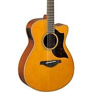 Yamaha A-Series AC1M Cutaway Concert Acoustic-Electric Guitar