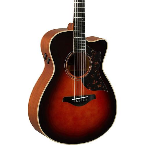 Yamaha A-Series AC3M Cutaway Concert Acoustic-Electric Guitar-thumbnail