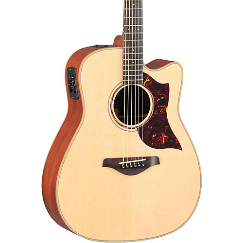 Yamaha A-Series All Solid Wood Dreadnought Acoustic-Electric Guitar with SRT Preamp/Pickup-thumbnail